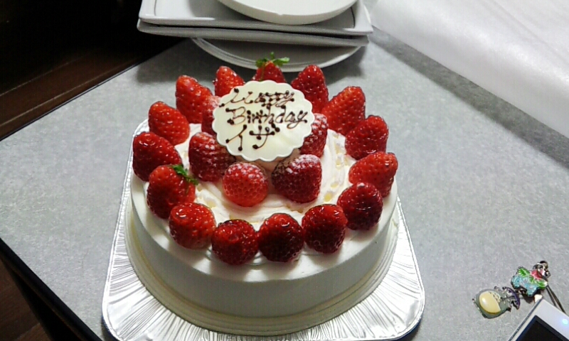 Japanese birthday cake ^^