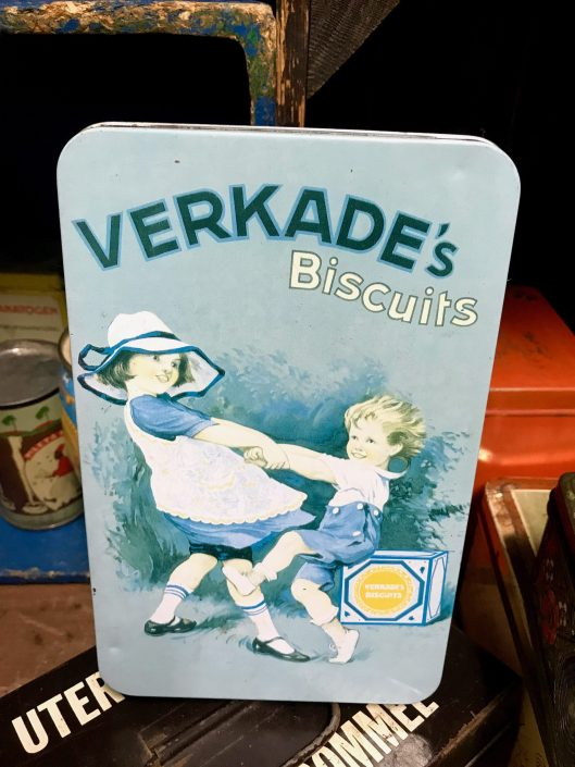 Another tin of Dutch Verkade's Biscuits.
