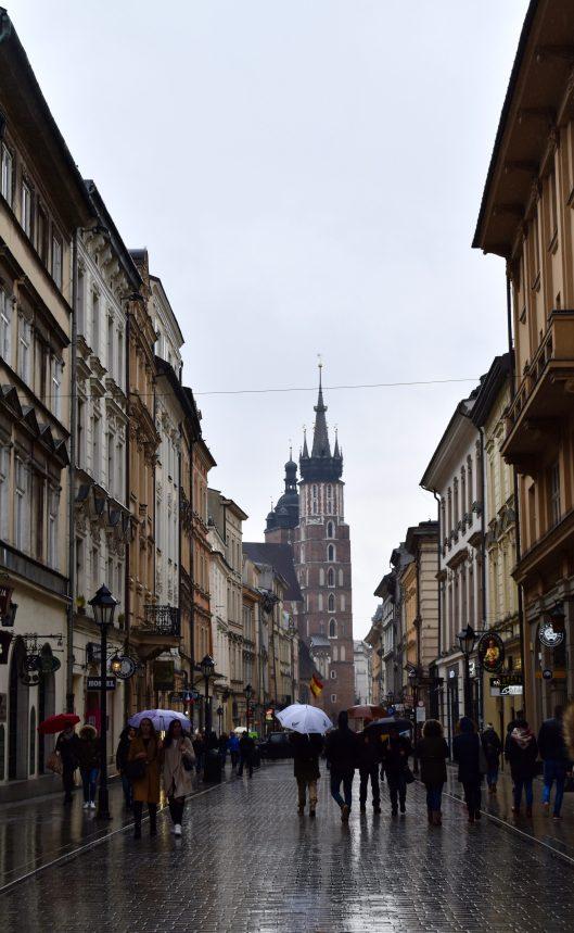 Floriańska Street.
